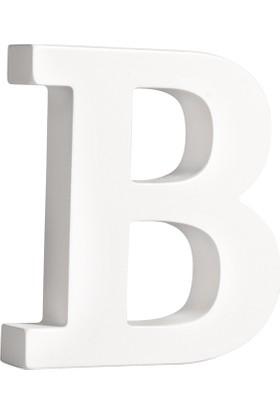 Rayher MDF Beyaz Harf 11cm - B