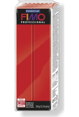 Staedtler Fimo Professional Polimer Kil 350Gr. Classical Red