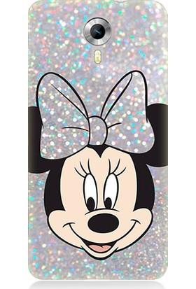 Teknomeg General Mobile Discovery 4g Minnie Mouse Desenli Silikon Kılıf