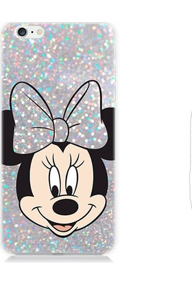 Teknomeg Apple iPhone 6 Minnie Mouse Desenli Silikon Kılıf
