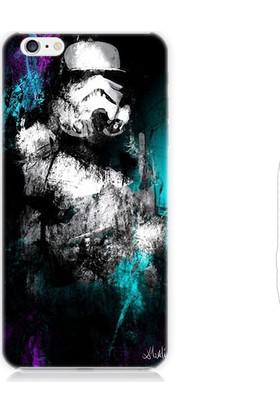 Teknomeg Apple iPhone 6 Star Wars Stormtrooper Desenli Silikon Kılıf