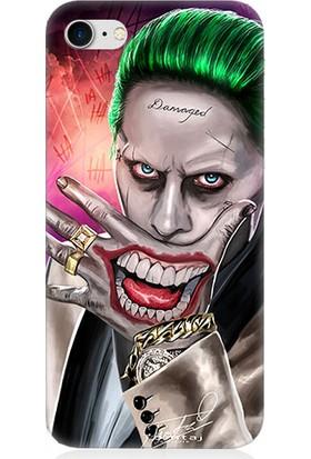 Teknomeg Apple iPhone 7 Suicide Joker Desenli Silikon Kılıf