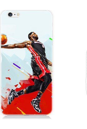 Teknomeg Apple iPhone 6s Nba Basketbol Desenli Silikon Kılıf