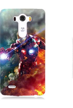 Teknomeg Lg G3 İron Man Desenli Silikon Kılıf