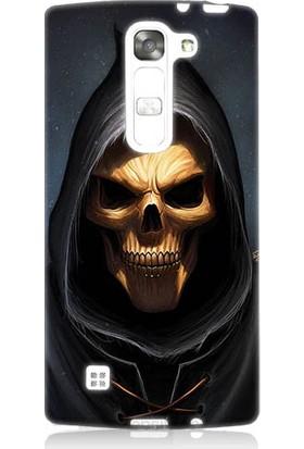 Teknomeg Lg G4 Magna Death Angel Ölüm Meleği Desenli Silikon Kılıf