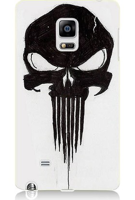 Teknomeg Samsung Galaxy Note Edge Punisher Dripping Desenli Silikon Kılıf