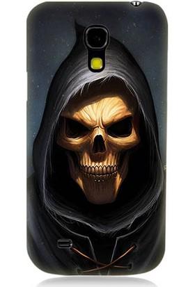 Teknomeg Samsung Galaxy S4 Mini Death Angel Ölüm Meleği Desenli Silikon Kılıf