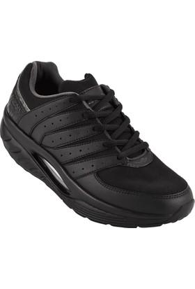 Lescon L-5612 Siyah Unisex Easystep Spor Ayakkabı