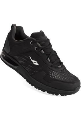 Lescon L-5505 Siyah Erkek Airtube Spor Ayakkabı