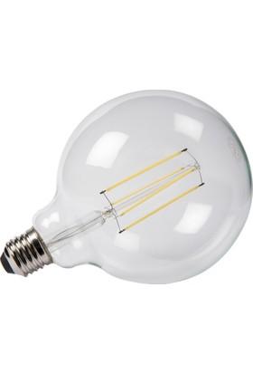 Maxima G125 LED 6W Uzun Filament 6500K Şeffaf Ampul