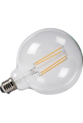 Maxima G125 LED 6W Uzun Filament 2700K Şeffaf Ampul