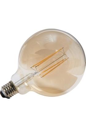 Maxima G125 LED 8W Dim'li Uzun Filament 2700K Amber Ampul
