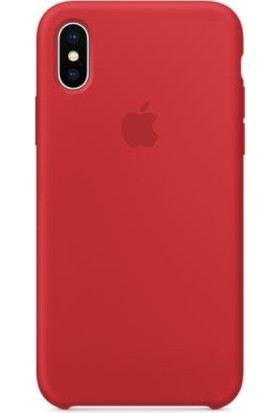 Apple iPhone X Silicone Case - Red MQT52ZM/A (Apple Türkiye Garantili)