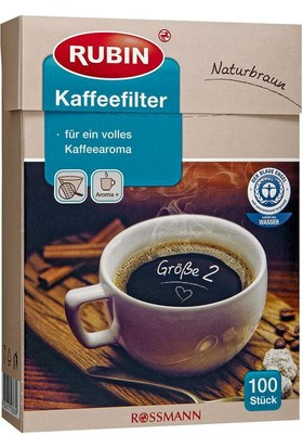 Rubin Küçük Boy Kahve Filtresi (Naturel)