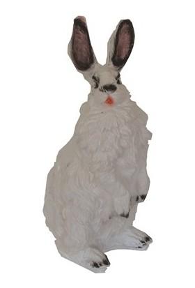 Zorlu Heykel Ayakta Tavşan