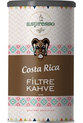 Aspresso Costa Rica Filtre Kahve 500 gr