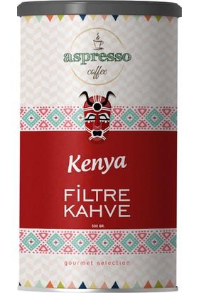 Aspresso Kenya Filtre Kahve 500 gr