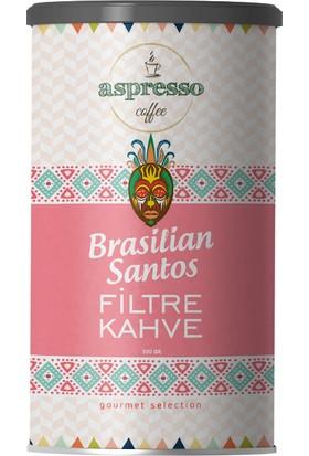 Aspresso Brasilian Santos Filtre Kahve 500 gr