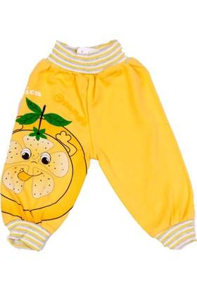Million Limon Figürlü Penye Bebek Alt