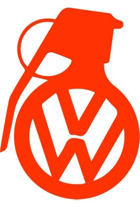 Smoke Volkswagen Bombs Sticker