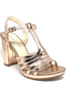 Shop And Shoes 027-18096 Bayan Ayakkabı Rose