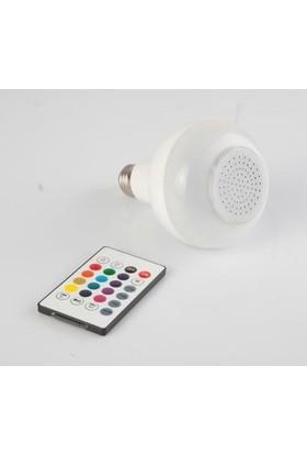 Odalight Bluetooth Hoparlör Ve Led Lamba Uzaktan Kumandalı Ampül