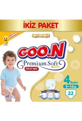 Goon Pants Külot Bebek Bezi Premium Soft 4 Beden Ekonomik Paket 22 Adet