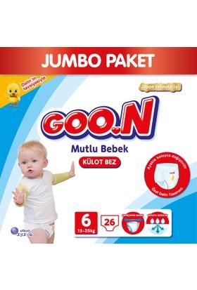 Goon Pants Külot Bebek Bezi Mutlu Bebek 6 Beden Jumbo Paket 26 Adet