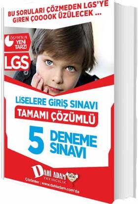 8.Sınıf LGS Tamamı Çözümlü 5 Deneme Sınavı