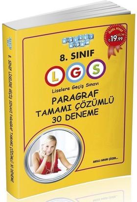 8.Sınıf LGS Paragraf Tamamı Çözümlü 30 Deneme