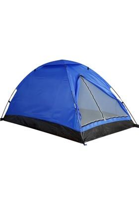 Gringo Ortadan Fermuarlı 3 Kişilik Kaliteli Kamp Çadırı 200x150x110 cm