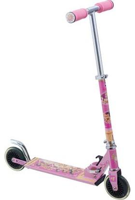 Disney Princess İki Tekerli Frenli Scooter