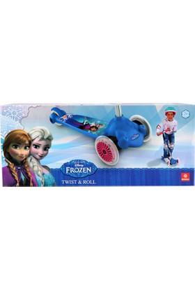 Frozen Frenli Üç Tekerli Twist Roll Scooter