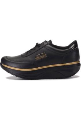 Slazenger Furry Kadın Günlük Giyim Ayakkabı Black