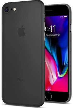 Spigen Apple iPhone 7 Kılıf Air Skin (0.3 mm) Black 042CS20869