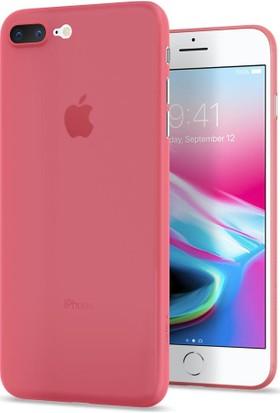Spigen Apple iPhone 7 Plus Kılıf Air Skin (0.3 mm) Crimson Red - 043CS21727