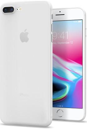 Spigen Apple iPhone 8 Plus Kılıf Air Skin (0.3 mm) Soft Clear - 055CS22593