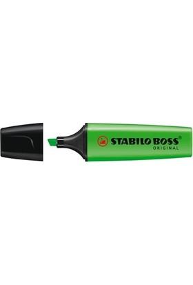 Stabilo Boss Fosforlu Kalem Yeşil