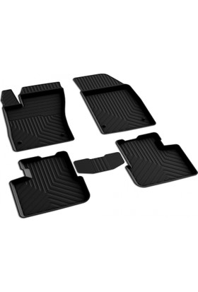 Fiat Egea SD 4D Havuzlu Paspas Siyah A+Kalite