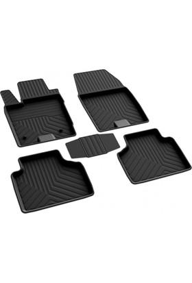 Ford Courier 4D Havuzlu Paspas Siyah A+Kalite