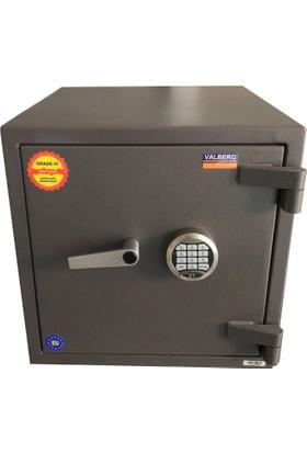 Valberg Fort M50 Güvenlik Ve Yangın Sertifikalı Çelik Kasa