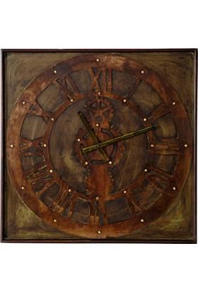Vitale Dragon Metal Çarklı Duvar Saati