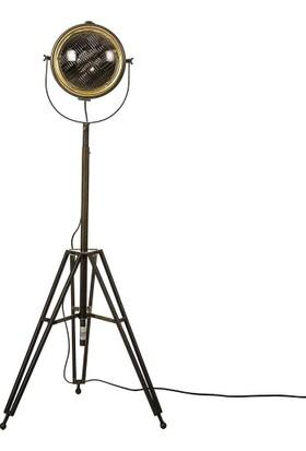 Vitale Patna Spot Model Cam Kapaklı Lambader