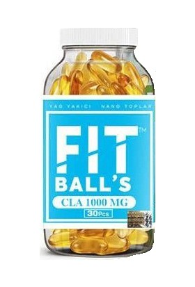 Fitballs Bandrollü Firmasından Orjinal Ürün 3 Adet Fitballs Cla Ve 3 Adet Fitballs Çay