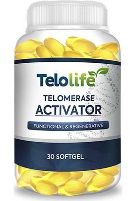 Telolife Bandrollü Firmasından Orjinal Ürün Telolife Telomer Softgel 1 Aylık Kullanım