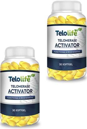 Telolife Bandrollü Firmasından Orjinal Ürün Telolife Telomer Softgel 2 Aylık Kullanım