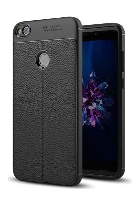 Case 4U Huawei P9 lite 2017 Kılıf Darbeye Dayanıklı Niss Siyah