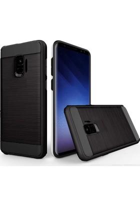 Case 4U Samsung Galaxy J2 Pro Kılıf Korumalı Armor Kapak Siyah