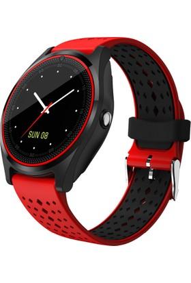 Case 4U V9 Smartwatch iOS ve Android Uyumlu Akıllı Saat