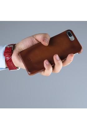 Bouletta Ultimate Jacket Deri Telefon Kılıfı-iPhone 7/iPhone 8 Plus-RST2EF Taba Effectli